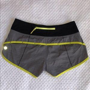 Lululemon Speed Shorts EUC 4/XS